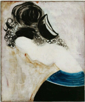 Константин Бранкузи. Портрет женщины в парике.
