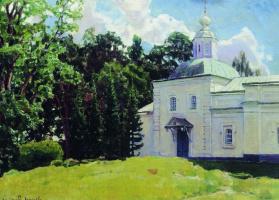Аполлинарий Михайлович Васнецов. Летний день