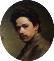Николай Александрович Ярошенко. Автопортрет. 1875