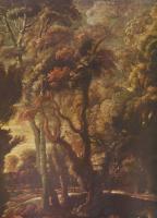 Peter Paul Rubens. Hunt Atalanta, fragment