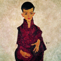 Egon Schiele. Portrait Of Herbert Rainer