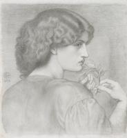 Данте Габриэль Россетти. Листья розы