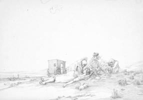 Борис Петрович Свешников. Лагерный рисунок 5