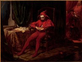 Ян Матейко. Станчик (Придворный шут Станислав Гуска)
