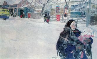 Tetyana Yablonska. Mother