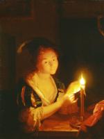 Годфрид Схалкен. Девушка со свечой