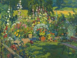 Куно Амье. Цветущий сад
