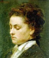 Анри Фантен-Латур. Портрет молодой женщины