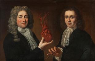 Юридан Пол. Портрет двух мужчин из гильдии хирургов