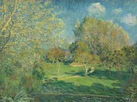 The Garden of Hoschedé, Montgeron