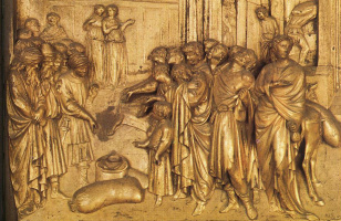 Лоренцо Гиберти. История Иосифа