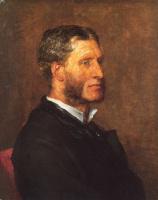 George Frederick Watts. Portrait Of Matthew Arnold