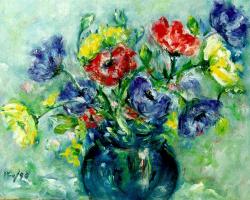 Мари Ромеро Кампо. Букет цветов 2