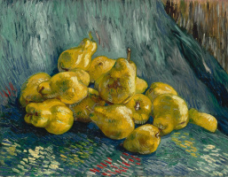 Vincent van Gogh. Still life with pears