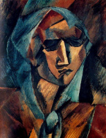Georges Braque. Head of a woman