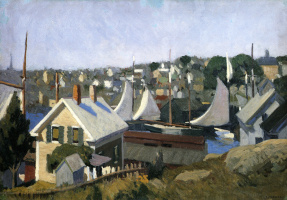 Edward Hopper. Gloucester Harbor