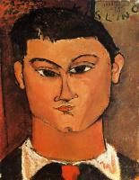 Амедео Модильяни. Портрет Моиса Кислинга