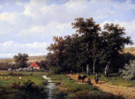 Ван Антхони Виджнгаердт. Проселочная дорога на ферму