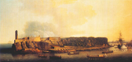 Джон Томас Серрес. Британский флот ввод в Гавану
