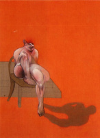 Фрэнсис Бэкон. Сидя на стуле