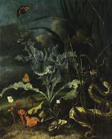 Отто Марсеус ван Скрик. Натюрморт в лесу