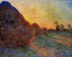 Claude Monet. Haystacks