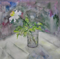 Natasha Chubarova. A flower