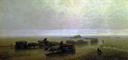Архип Иванович Куинджи. Чумацкий тракт в Мариуполе