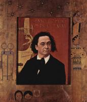 Густав Климт. Портрет пианиста Йозефа Пембауэра