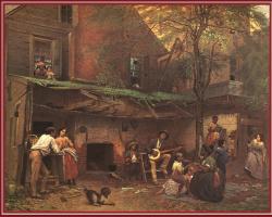 Эдвард Киллингворт Джонсон. Старый дом в Кентукки