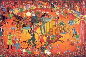 Джон Огаст Свонсон. Великий цирк