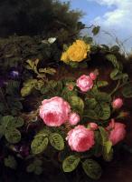 Генриетта Роннер-Книп. Розовые розы