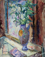 Давид Давидович Бурлюк. Весенние цветы