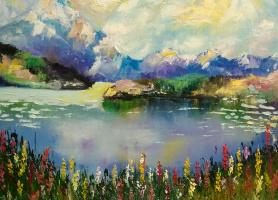 Irene Poddubnaya. Горное озеро