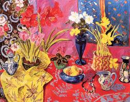Мэри Пави. Композиция с синей вазой