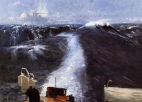 Джон Сингер Сарджент. Буря на Атлантическом океане