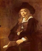 Рембрандт Харменс ван Рейн. Портрет Жерара де Лересс