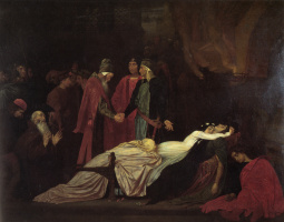 Frederic Leighton. The Montagues and the Capulets