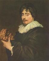 Антонис ван Дейк. Портрет скульптора Франсуа Дюкенуа
