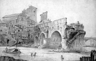 Ян Асселин. Сломанный мост в Риме