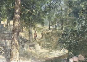 Анастасия Вячеславовна Карасева. Крит, под стенами Кносского дворца.