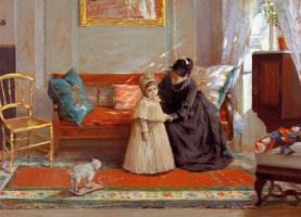 William Merritt Chase. I'm going to grandma's