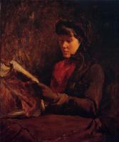 Фрэнк Дувенек. Женщина читает