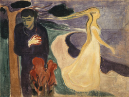 Edvard Munch. Parting