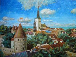 Дмитрий Терехов. Старый город. Таллин.