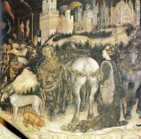 Антонио Пизанелло. Святой Георгий и принцесса