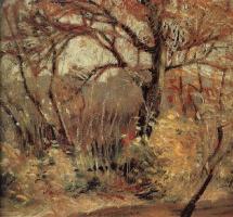 Грант Вуд. Осенний пейзаж
