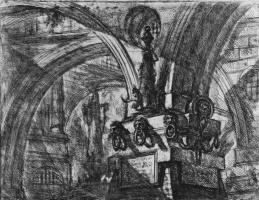 Джованни Баттиста Пиранези. Серия Тюрьмы, лист XV, первое состояние