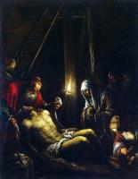 Якопо да Понте Бассано. Снятие с креста