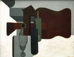 Амеде Озанфан. Guitar and Bottles